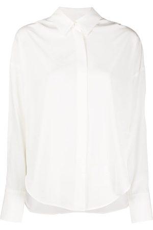 LORENA ANTONIAZZI Plain pointed collar shirt