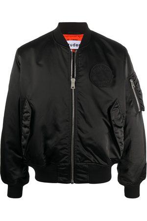 Etudes Logo patch bomber jacket