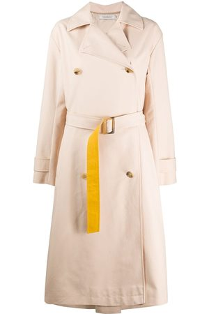 Nina Ricci Colour block trench coat - Neutrals