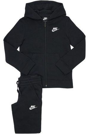 Nike Girls Sweatpants - Cotton Blend Sweatshirt & Sweatpants