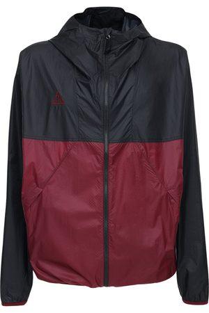 Nike Men Jackets - Acg Lightweight Hooded Nylon Jacket
