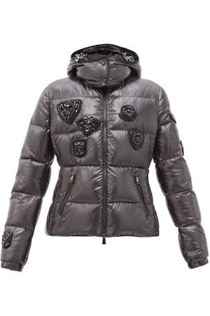 Moncler Ouanne Beaded Technical Hooded Down Jacket - Womens