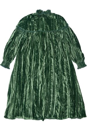 TIA CIBANI Antoinette Velvet Dress