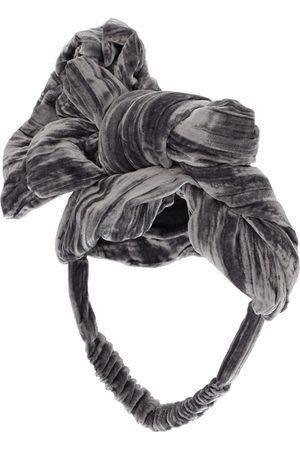 TIA CIBANI Rayon & Silk Headband W/ Appliqué