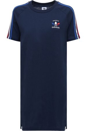 adidas 3-s France Cotton T-shirt Dress