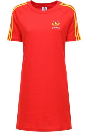 adidas 3-s Italy Cotton T-shirt Dress