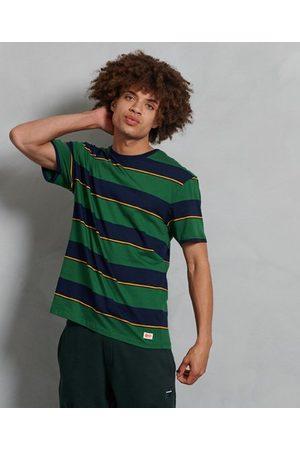 Superdry Organic Cotton R & P Box Fit Stripe T-Shirt