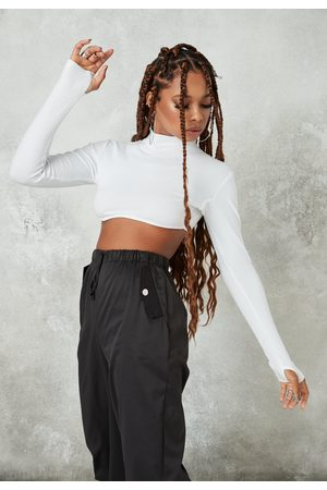 Missguided Rib Underbust Crop Top