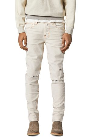 Hudson Axl Skinny Fit Jeans in Washed