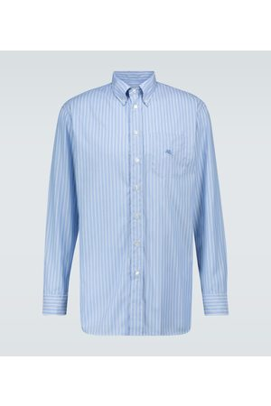 Etro Long-sleeved striped shirt