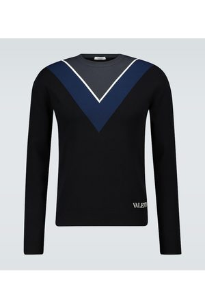 VALENTINO Crewneck intarsia sweater