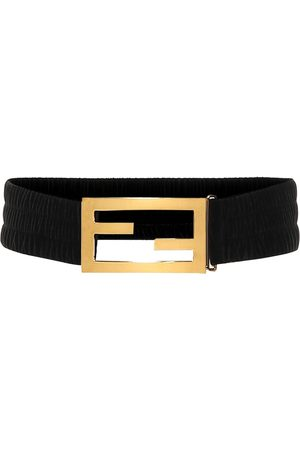 Fendi Baguette velvet belt