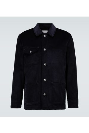 CARUSO Corduroy workwear jacket
