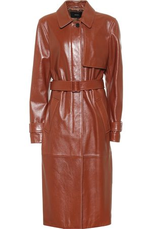 Joseph Leather trench coat