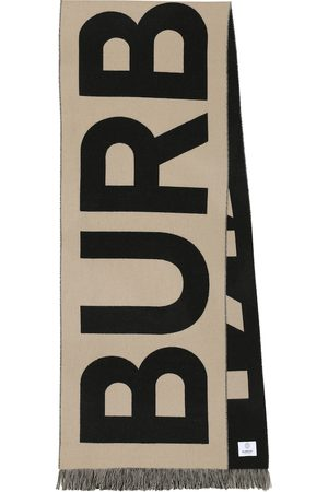 Burberry Logo wool scarf