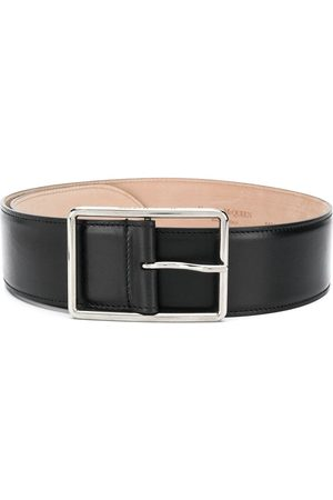 Alexander McQueen Buckle-fastening leather belt