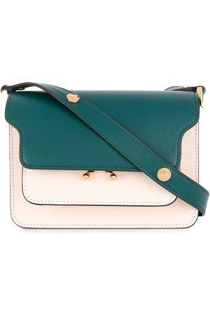 Marni Women Shoulder Bags - Flap colour-block shoulder bag