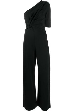 Stella McCartney Gathered single-shoulder jumpsuit