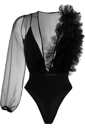 Alchemy Asymmetric sheer bodysuit