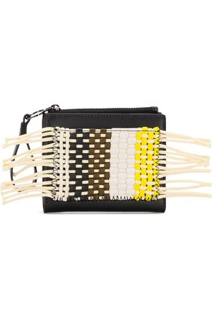 Camper Lab Wallets - Aycaramba woven-patchwork wallet