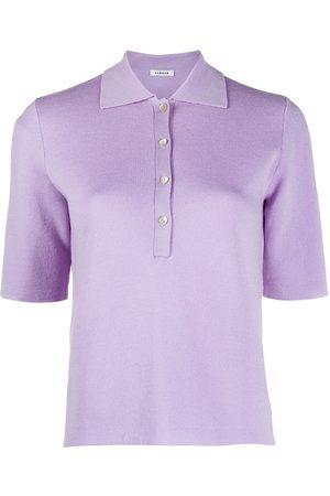 P.a.r.o.s.h. Women Polo Shirts - Leila knitted polo shirt