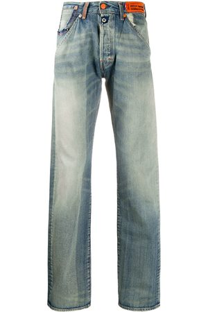 Heron Preston Faded straight leg jeans