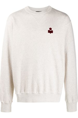 Isabel Marant Mike logo-print sweatshirt - Grey