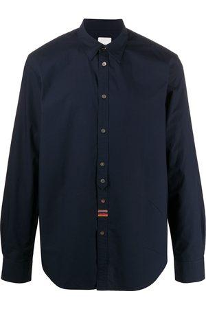 Paul Smith Men Long sleeves - Plain long-sleeved shirt