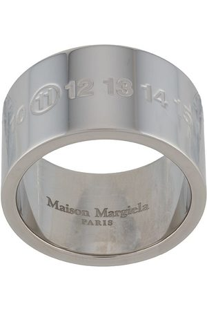 Maison Margiela Men Rings - Engraved Numbers ring