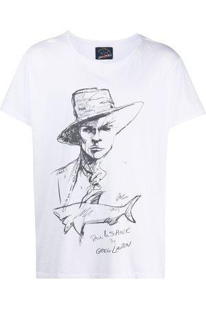 GREG LAUREN Men T-shirts - Graphic-print crew neck T-Shirt