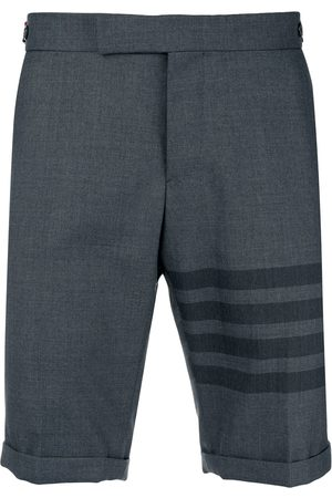 Thom Browne 4-Bar Skinny-Fit Short - Grey