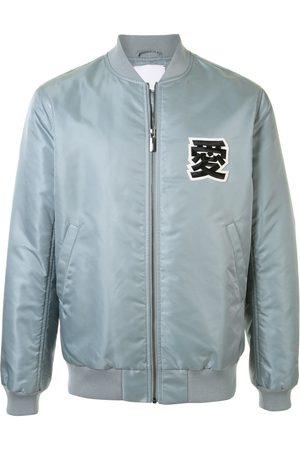 Ports V Embroidered logo bomber jacket
