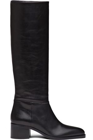 Prada Pointed toe knee high boots