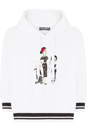 Dolce & Gabbana Tailor characters-embroidered hoodie