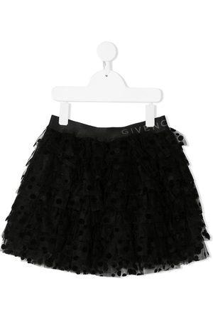 Givenchy Girls Skirts - Ruffle mesh skirt