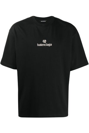 Balenciaga Men T-shirts - Sponsor logo T-shirt