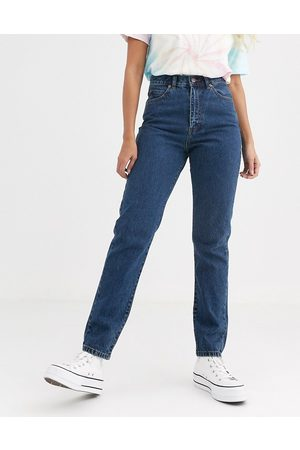Dr Denim Nora high rise mom jean in mid retro