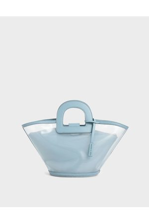 CHARLES & KEITH Bags - Mesh Trapeze Bag