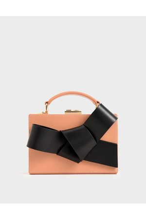 CHARLES & KEITH Bow Ties - Bow Boxy Bag