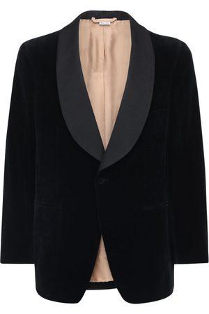 Gucci Single Breast Cotton & Linen Jacket