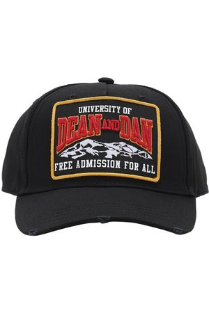 Dsquared2 Mountain Patch Canvas Baseball Hat