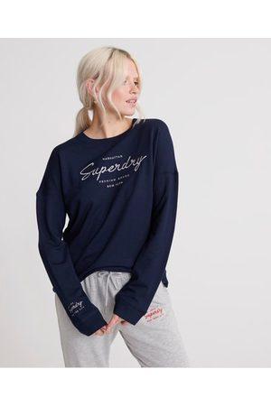 Superdry Women Sweats - Lucy Lounge Sweat Top