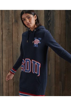 Superdry Boston Varsity Hoodie Dress