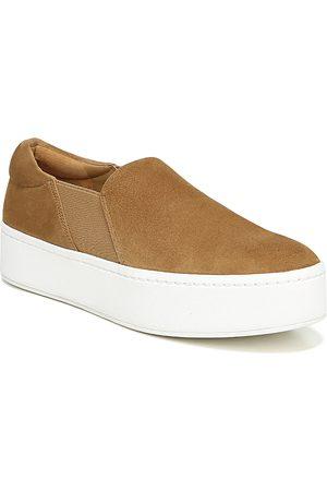 Vince Women Platform Sneakers - Warren Platform Slip-On Sneakers