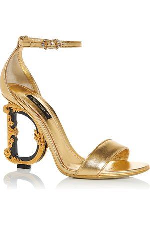 Dolce & Gabbana Women's D & G Sculpted High Heel Sandals
