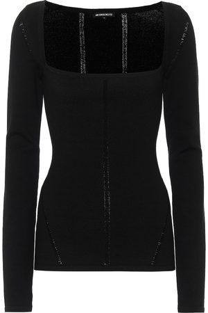 ANN DEMEULEMEESTER Merino wool-blend sweater