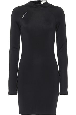 1017 ALYX 9SM Women Casual Dresses - Mockneck jersey minidress