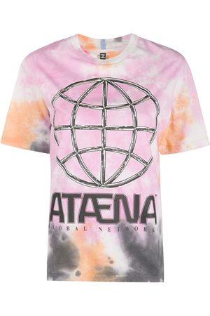 MCQ Women T-shirts - Tie-dye graphic print T-shirt