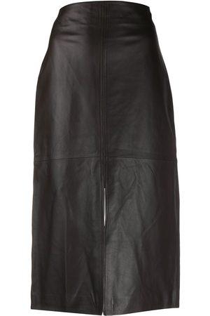 CO Front slit pencil skirt