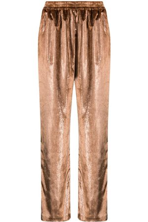 GIANLUCA CAPANNOLO Straight-leg trousers - Neutrals